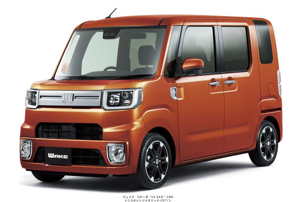 ダイハツ専門店 D-フォーラム 長岡市 新車 ウェイク 特別仕様車 VS